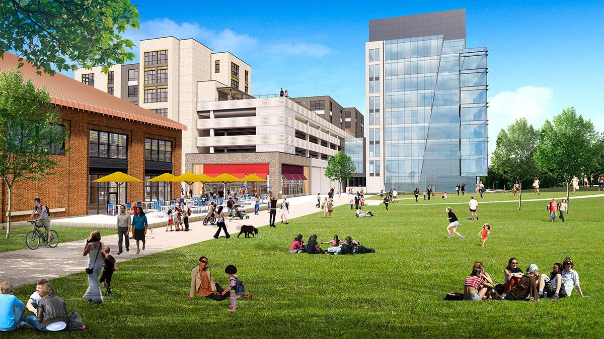 Arsenal Park rendering