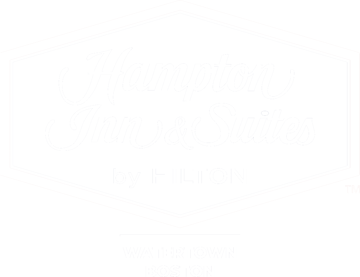 Hampton Inn & Suites by Hilton Logo