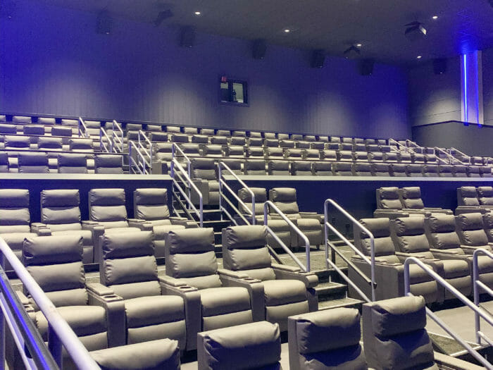Majestic cinema theater seats
