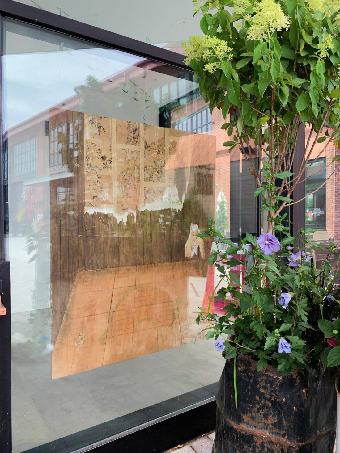 Local art at Arsenal Yards