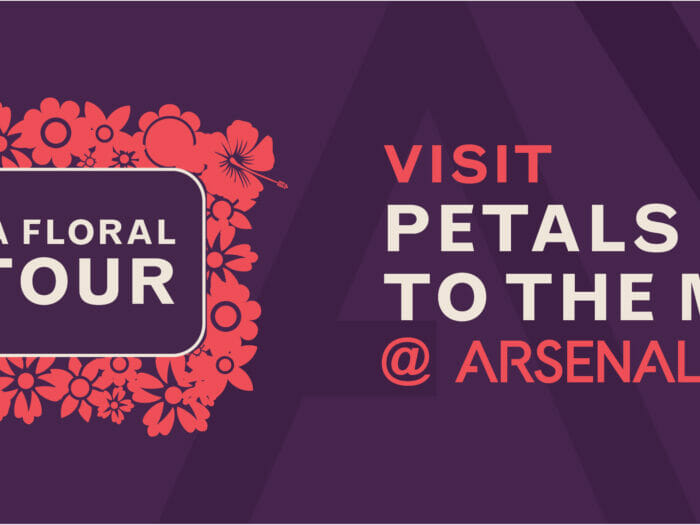 Take a floral detour - Visit Petals to the Metal at Arsenal Yards