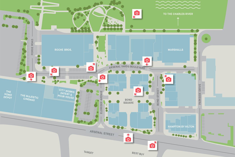 Arsenal Yards site plan