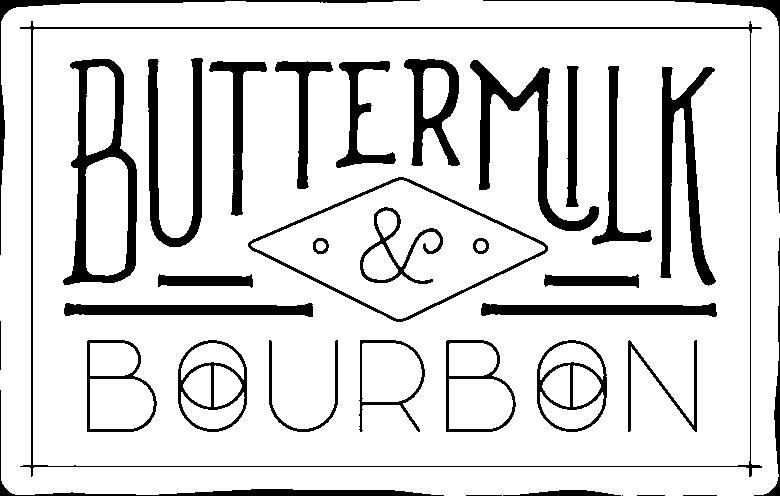 Buttermilk & Bourbon Logo