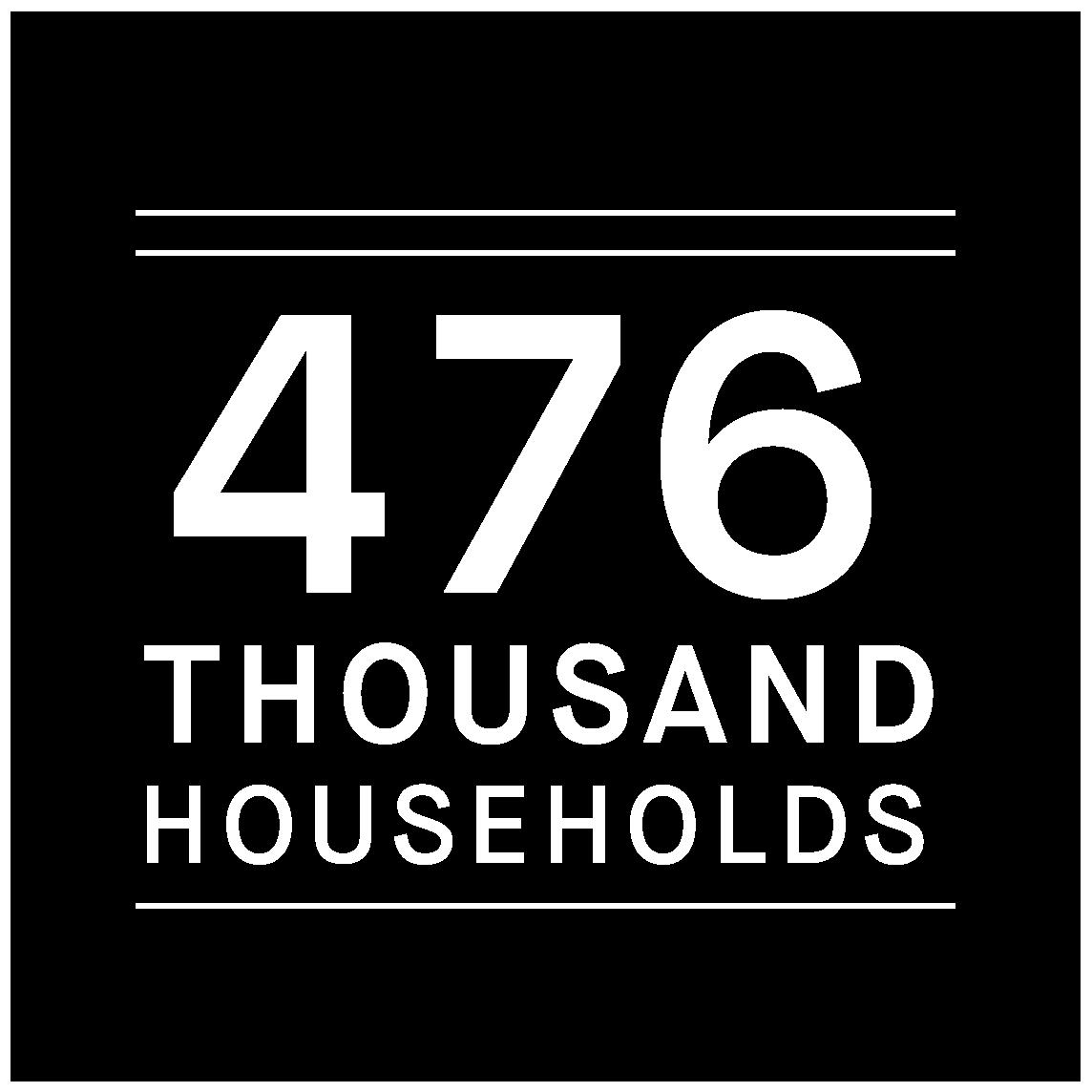 476,000 households